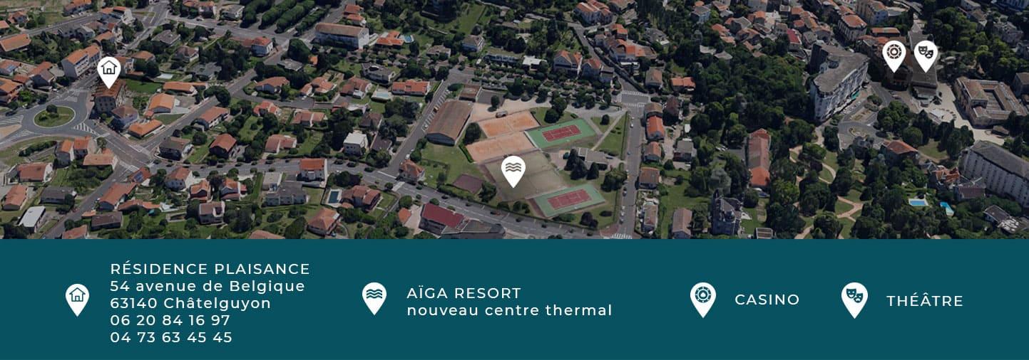 location meublé cure thermale Châtel-Guyon