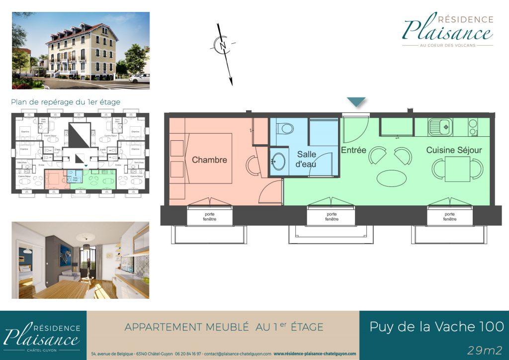 location logement thermes Châtel-Guyon
