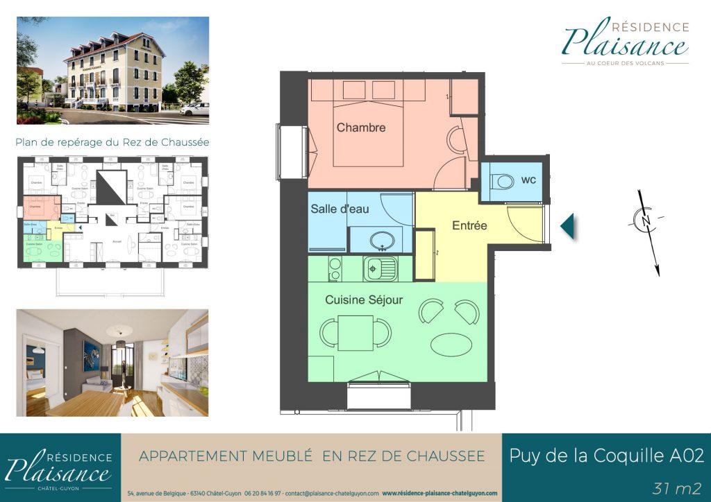 location meublé Châtel-Guyon