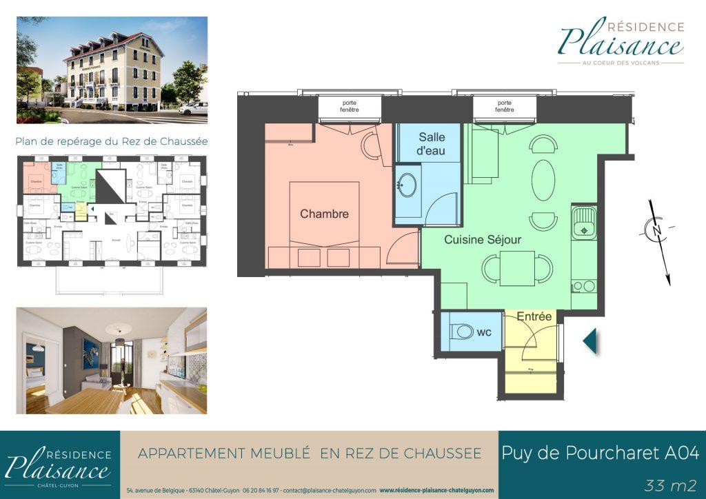 location meublé thermes Châtel-Guyon